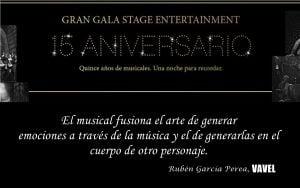 Stage Entertainment: la fábrica de los musicales cumple 15 años