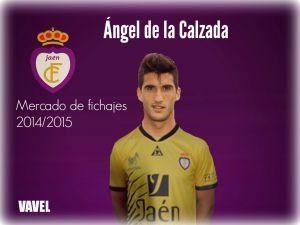 Ángel de la Calzada nuevo guardameta del Real Jaén