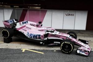 Force India lança oficialmente o VJM11 para temporada 2018 da Fórmula 1