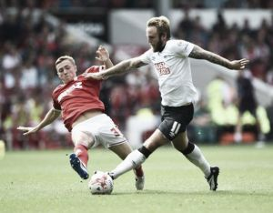 Nottingham Forest 1-1 Derby County: 10 man Rams hold on for point
