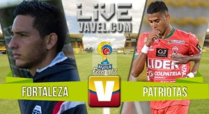 Resultado final: Fortaleza - Patriotas por Liga Águila 2016-1 (3-2)
