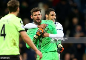 Tony Pulis hails goalkeeper Foster after stoppage-time saves secure win against Bournemouth