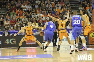 Fotos e imágenes del Valencia Basket 84 - 67 Tuenti Móvil Estudiantes de Liga Endesa