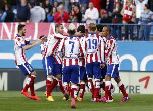 Atlético de Madrid - Real Sociedad: puntuaciones del Atlético, jornada 30