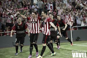 Fotos e imágenes del Athletic 3 - Nápoles 1, vuelta de la previa de Champions League