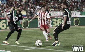 Gaspar, el jugador más joven del Almería en Primera