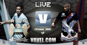 Manchester City vs Crystal Palace en vivo y en directo online