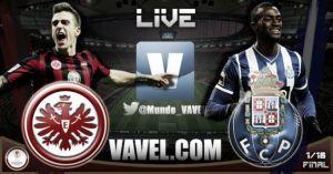 Eintracht Frankfurt vs Oporto en vivo y en directo online