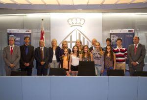 Presentación de la final del ISU Grand Prix de Barcelona 2014