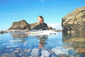 La surfista Leticia Canales hace las maletas rumbo a China