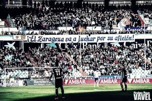 La afición, jugador imprescindible del Real Zaragoza