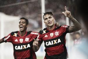 """Guerrero enaltece coletivo do Flamengo após primeiro gol na Libertadores: """"Muita união"""""""