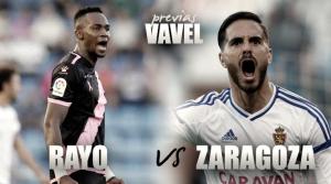 Previa Rayo Vallecano – Real Zaragoza: ¿llegará la primera victoria a domicilio?
