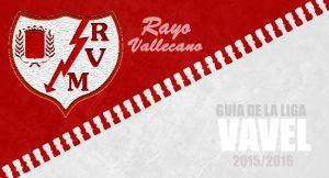 Rayo Vallecano 2015/16: no hay quinto malo