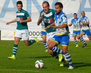Arandina CF - Coruxo FC: duelo con sabor a revancha