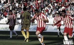 Fotos e imágenes del Almería 1-0 Girona, jornada 29 de la Liga Adelante