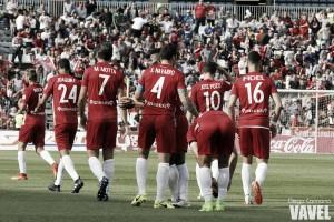 Fotos e imágenes del Almería 2-1 Sevilla Atlético, jornada 35 de Segunda División