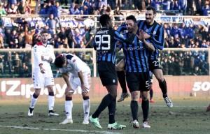 Partita Cagliari-Atalanta in diretta, Serie A LIVE 2016/17 3-0: sardi stratosferici, Atalanta insufficiente!