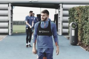 El Girona ya se entrena en Manchester