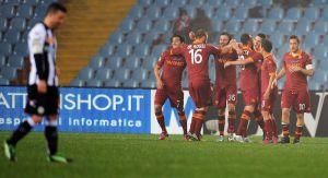Diretta Udinese - Roma, live della partita di Serie A