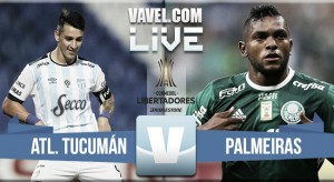 Resultado Atlético Tucumán vs Palmeiras por la CONMEBOL Libertadores 2016 (1-1)