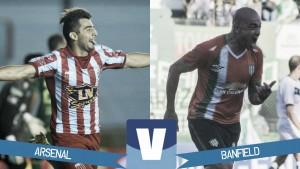 Arsenal vs Banfield en vivo online por el Torneo de la Independencia