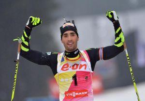 Biathlon: nella Mass Start di Oberhof la conferma di Fourcade e il ritorno di Berger