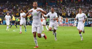 Les buts de Algérie - Afrique du Sud