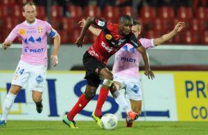 Les buts de Guingamp - Evian