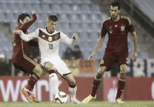Les buts de Espagne vs Allemagne