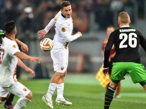 Les buts de Roma - Feyenoord
