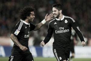 Les buts de Almeria - Real Madrid