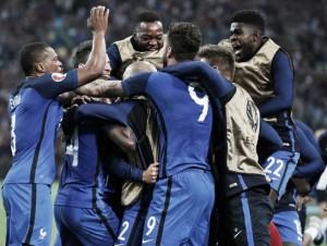 EM 2016 | Frankreich mit späten Toren - Schweiz spielt remis, Slowakei siegt