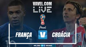 Resultado França x Croácia pela Final da Copa do Mundo 2018 (4-2)