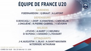 Sem Mbappé, França anuncia convocação para Mundial Sub-20
