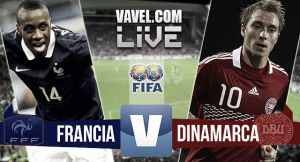 Resultado Francia vs Dinamarca (2-0)