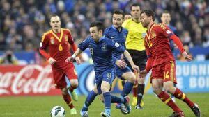 فلاش باك اخر خمس مباريات بين فرنسا وإسبانيا