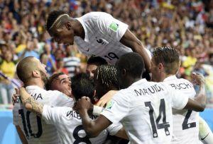 Manita della Francia, Svizzera travolta 5-2