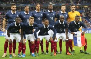 Francia se enfrentará a Rumanía, Suiza y Albania en la Eurocopa de 2016