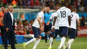 I gol di Francia vs Svizzera 5-2