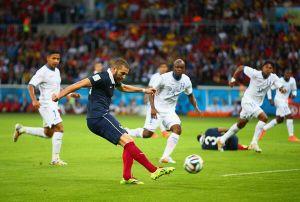 La Francia non delude, Benzema stende l'Honduras