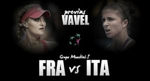 Francia - Italia: sin Roberta Vinci a evitar un 'déjà vu'