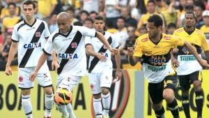 Jogo Criciúma x Vasco no Campeonato Brasileiro Série B 2016
