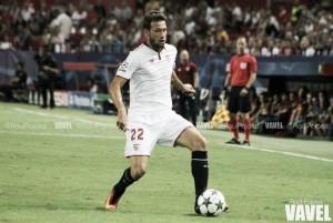 """Franco Vázquez: """"La temporada ha sido muy buena, hacía mucho que el Sevilla no quedaba cuarto"""""""
