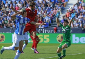 Liga, gol e follie al Municipal: 2-3 tra Leganes e Siviglia
