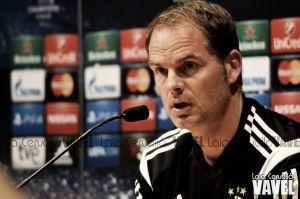 """Frank de Boer: """"Tendremos que estar a nuestro máximo nivel"""""""