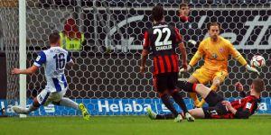 Frankfurt 4-4 Hertha Berlin: Flurry of goals at Commerzbank arena