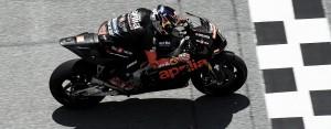Primeros test privados de Aprilia Racing finalizados