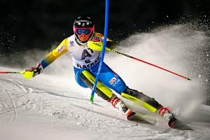 Sci Alpino - Frida Hansdotter porta tutte a scuola nella prima manche a Flachau