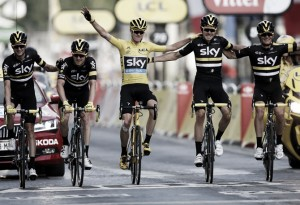 How did Chris Froome win the 2016 Tour de France?